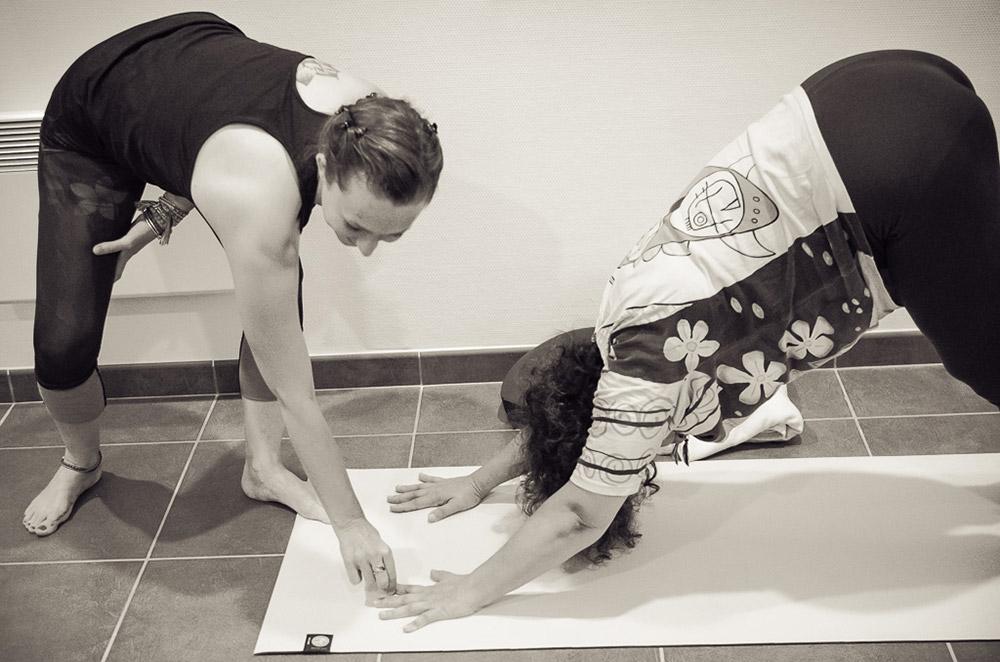 Sophie Ancel, cours individuels de yoga